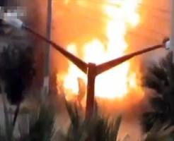【シリア戦争】爆発物が仕掛けられた自転車に近付き、一瞬で木っ端微塵となるシリア軍の兵士達