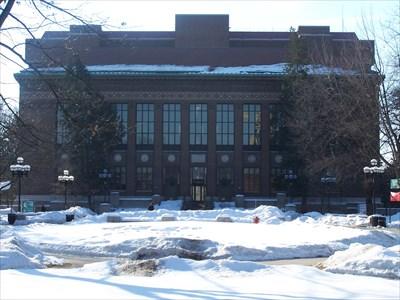 Harlan Hatcher Grad School Library - University of Michigan - Ann