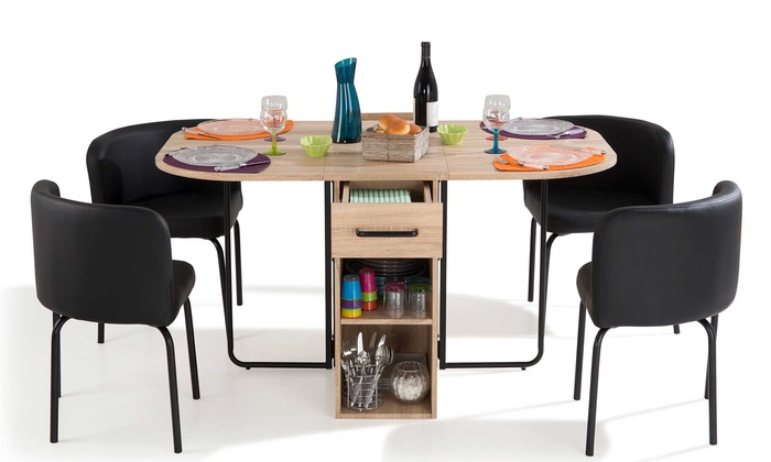 Tables Gain De Place Groupon Shopping - Table Gain De Place But