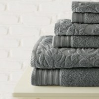 6-Piece Jacquard Towel Set by Casablanca Collection $32.99 Shipped