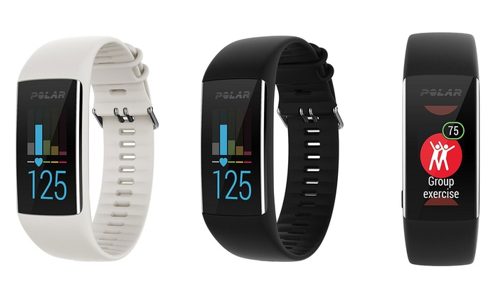 Polar A370 Fitness Tracker with Wrist-Based Heart Rate and GPS Groupon