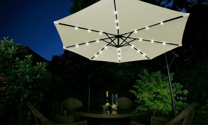 Umbrella With Built In Led Light Groupon