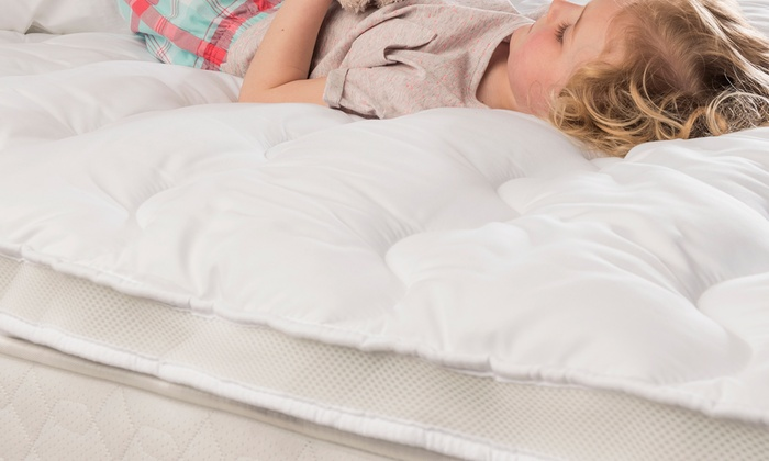 Up To 62 Off Silentnight Airmax Mattress Topper Groupon