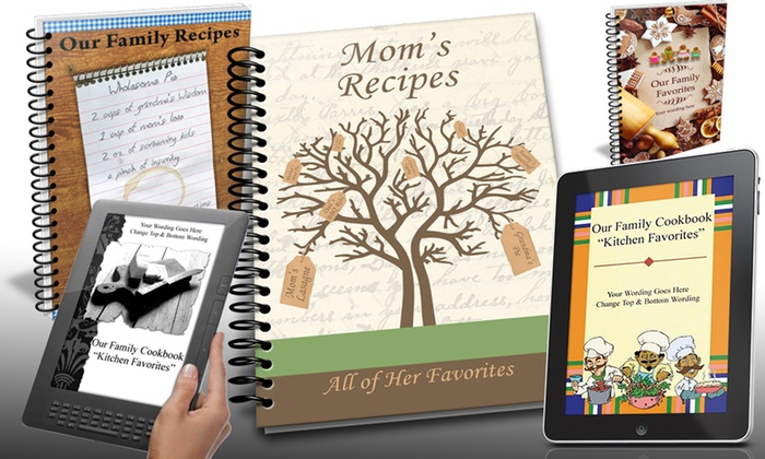 Family Cookbook Project - From $15 Groupon