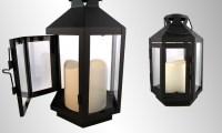 LampLust Flameless Lantern | Groupon Goods