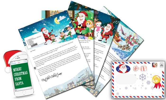 Personalized Santa Letter - Santa Letter Direct Groupon