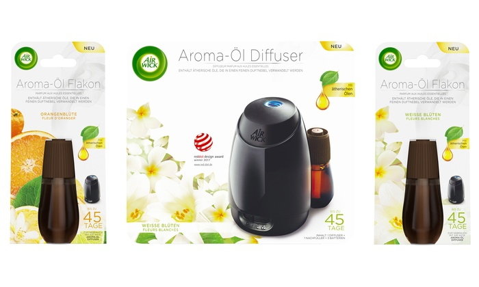 Raumduft Airwick Airwick Aroma-Öl Starter-set | Groupon Goods