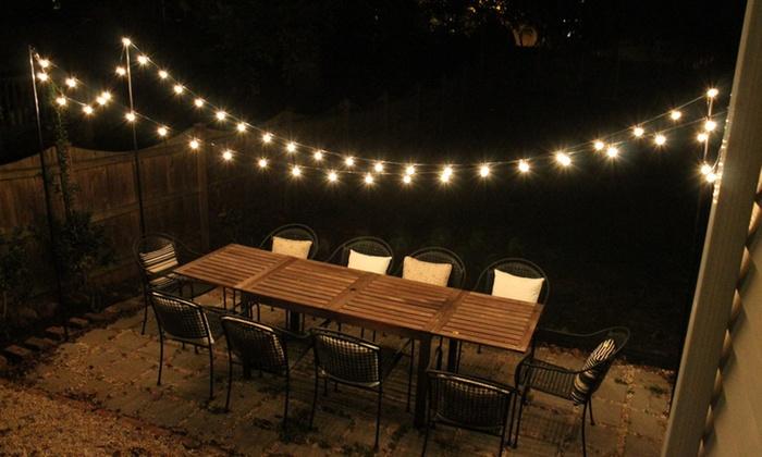Solar Powered String Light Bulbs Groupon Goods