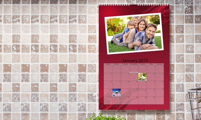 Custom Photo Calendar - Photo Deals Groupon