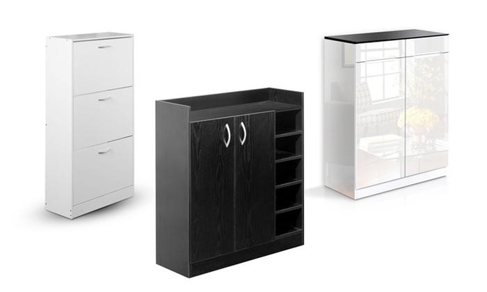 Shoe Storage Cabinet Cubpboard Groupon Goods