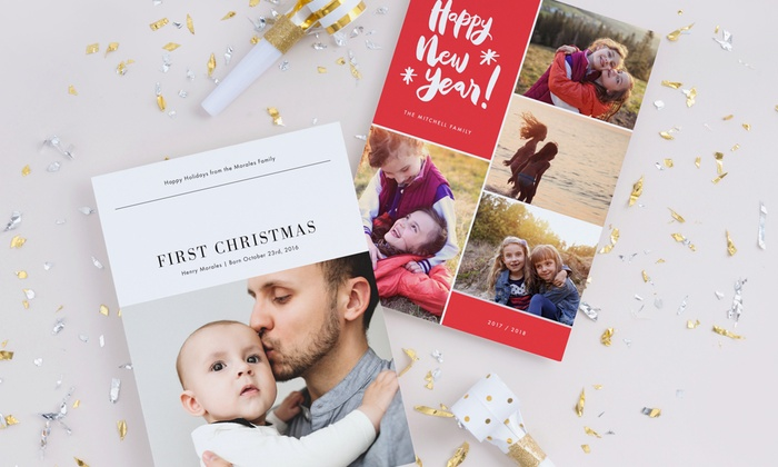 Custom Holiday Cards - Paper Culture Groupon