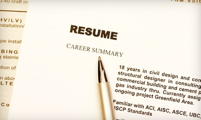 60 Off Resume and Cover-Letter Services - JMC Resumes, Ltd Groupon - professional resume and cover letter services