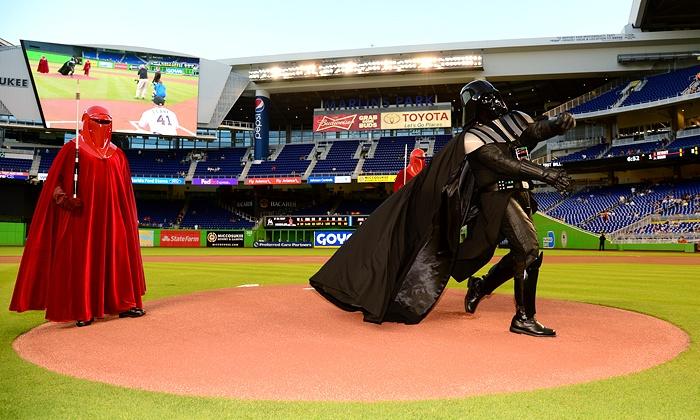 Miami Marlins vs Atlanta Braves in - Miami, FL Groupon