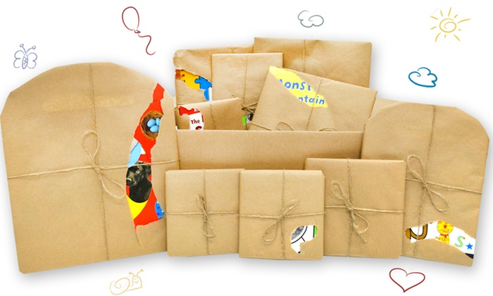 Childrens Reading And Activity Book Mystery Boxes