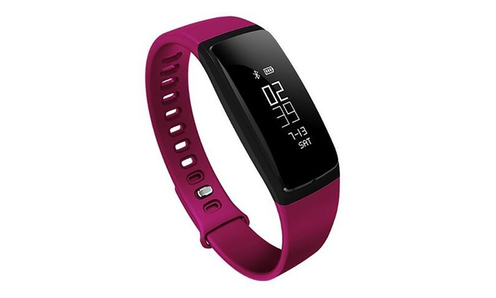 Fitness Tracker Watch with Blood Pressure and Heart Rate Monitor V7