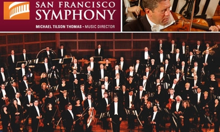 $35 for a First-Tier Ticket to The San Francisco Symphony at Davies