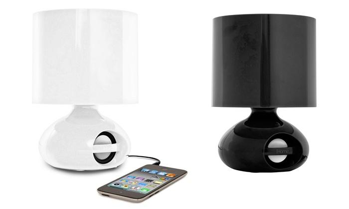 iHome Combination LED Desk Lamp and Speaker