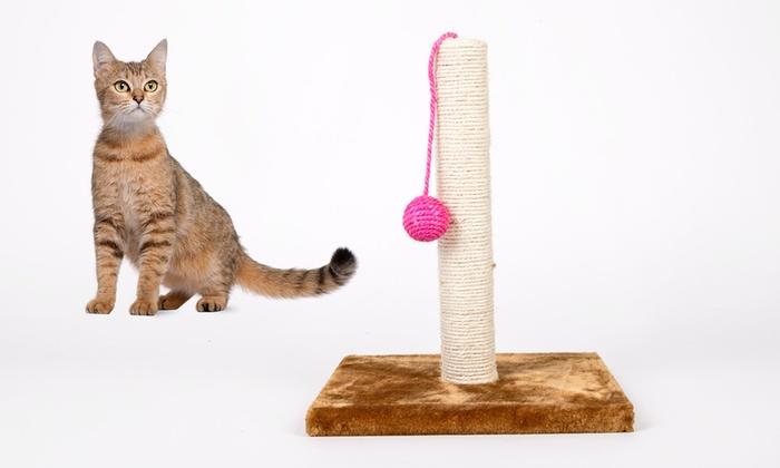 Cat Scratching Pole Groupon Goods
