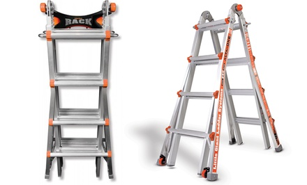 Little Giant 1739 Alta One Ladder With Free Ladder Rack