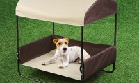 Indoor Outdoor Dog Bed with Canopy - Bing images