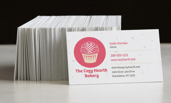 Business Cards from Vistaprint Groupon Goods