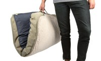Eddie Bauer Cushioned Travel Dog Bed with Handles | Groupon