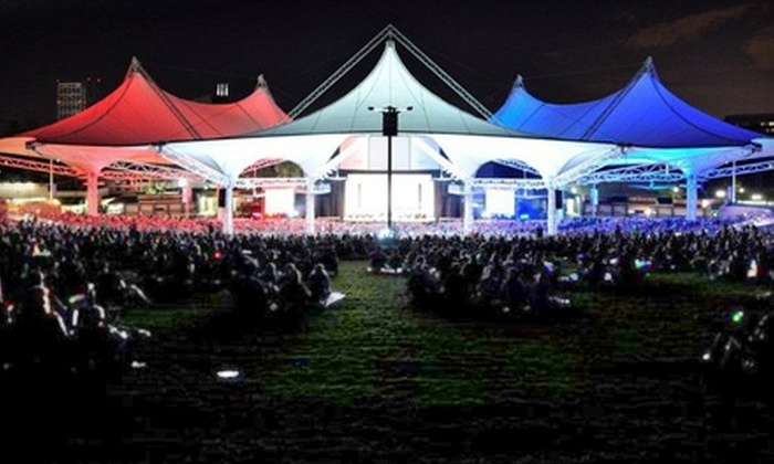 The Cynthia Woods Mitchell Pavilion 3 in - The Woodlands, Texas