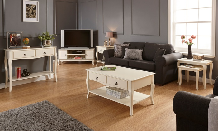 French-Style Living Room Furniture Groupon - french style living room