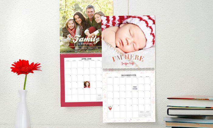 Personalized Calendars Groupon Goods