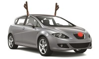 Reindeer Car Decoration Set | Groupon