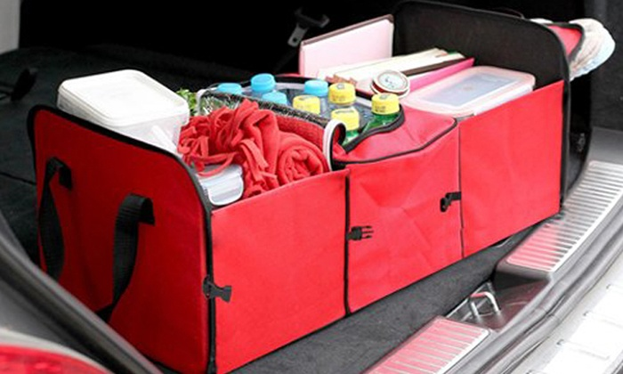 2 In 1 Car Boot Organiser Groupon Goods