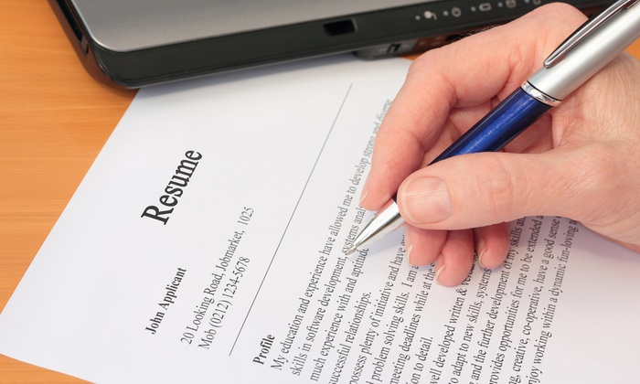 Resume Services - Resume Writing Services Groupon