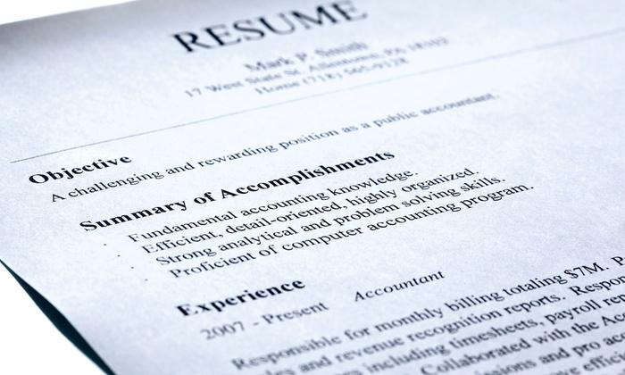 Resume  Cover Letter Help - Smashing Resumes Groupon