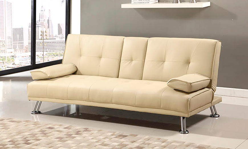 Three Seater Sofa Bed Groupon Goods