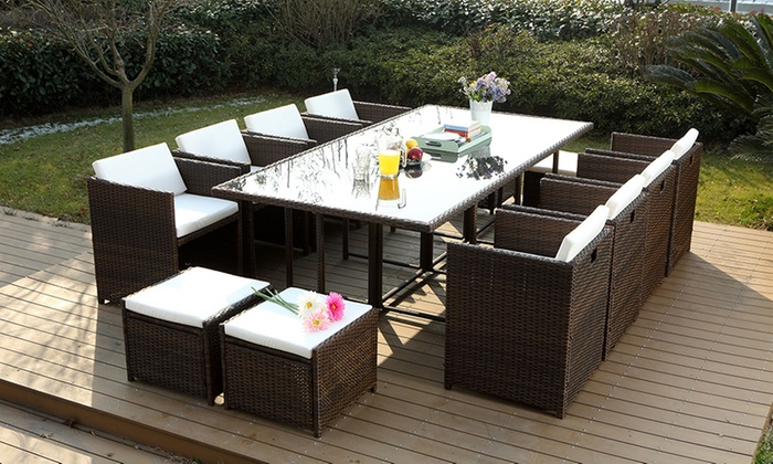 Salon De Jardin Encastrable 4 Places Salon De Jardin Encastrable | Groupon Shopping