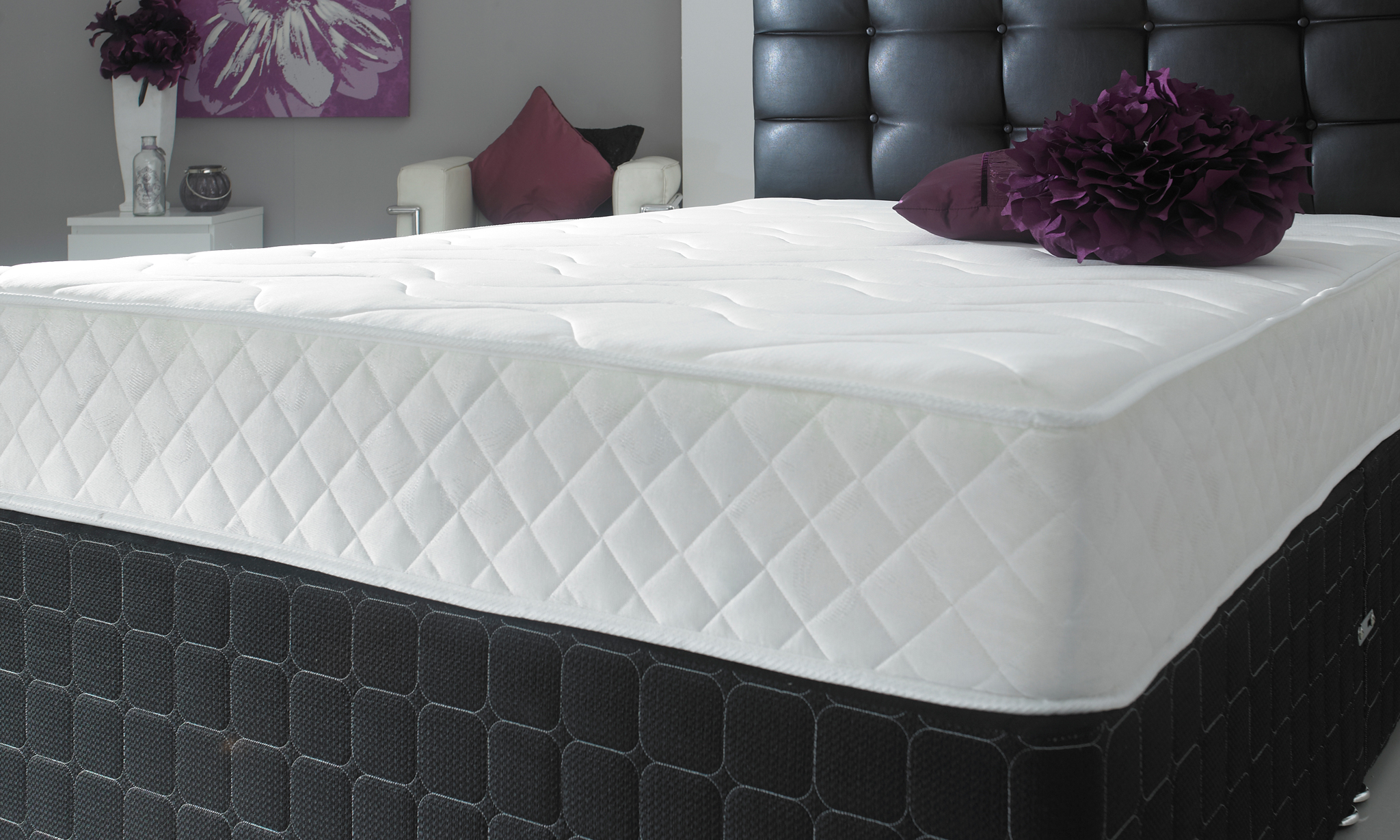 Single Mattress Free Delivery Single Double Or King Size Cool Blue Memory Bonnell