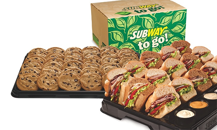 Meal or Party Platter - Subway Groupon