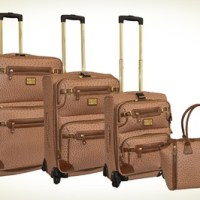 Adrienne Vittadini 4-Piece Luggage Set $249.99 Shipped