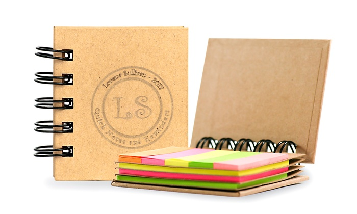 Up To 90 Off on Personalized Notebook Groupon Goods - stickey notes