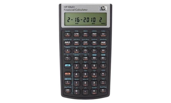 Hewlett-Packard 2716570 10bII Financial Calculator, 12-Digit LCD