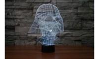 Star Wars and Star Trek 3D Illusion LED Decorative Lights ...