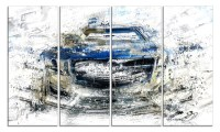 Abstract Muscle Car Metal Wall Art | Groupon