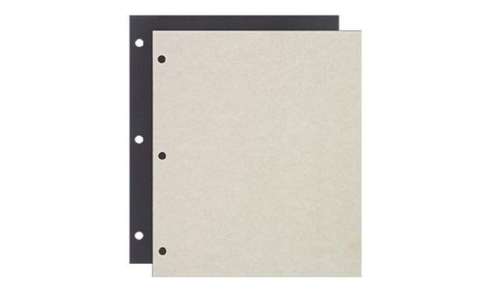 Raika 161-D 3-ring Scrapbook Refill pages - 85 x 11 in