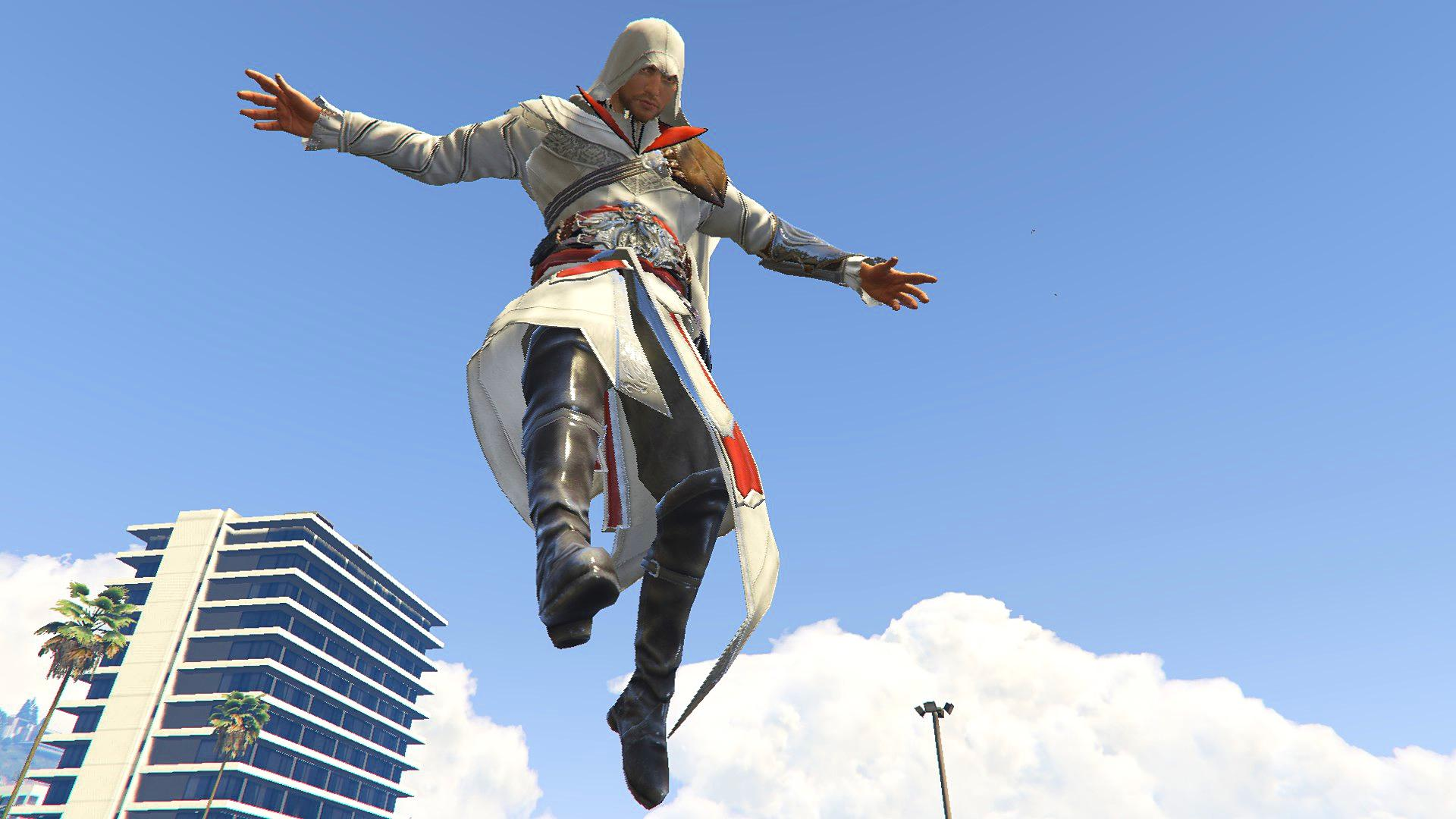 Gta 5 Cheats Ps4 Nederlands Acu Ezio Outfit [add-on Ped] - Gta5-mods.com