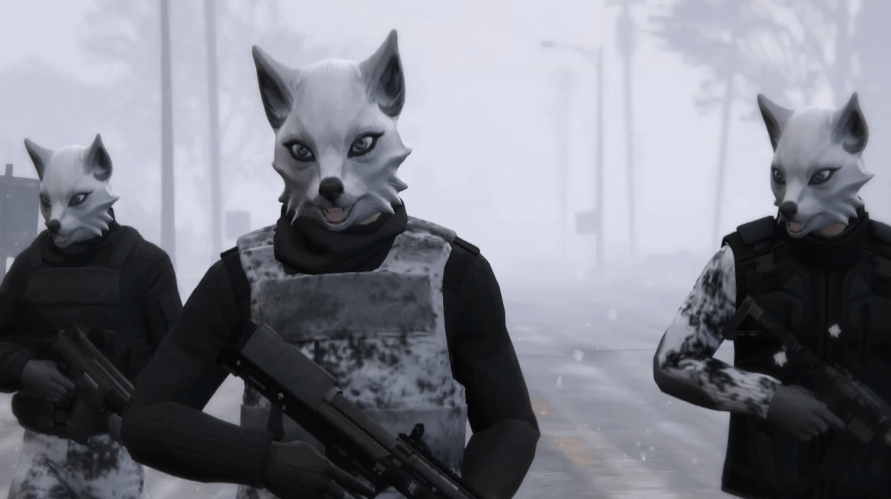 Gun Girl Anime Wallpaper Arctic Fox Soldier Pack Gta5 Mods Com