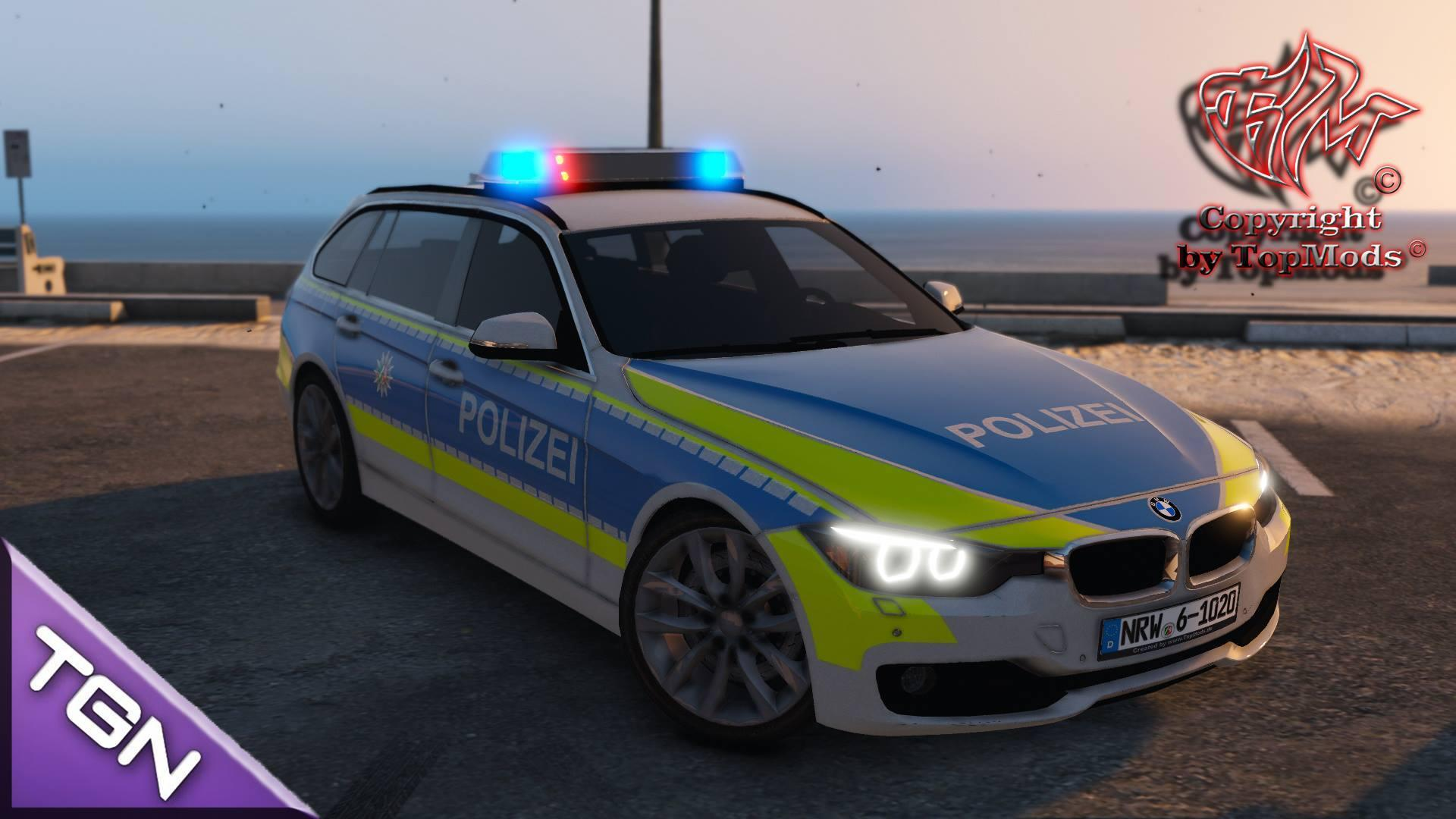 German Car Wallpaper Bmw F31 Polizei Nrw Gta5 Mods Com