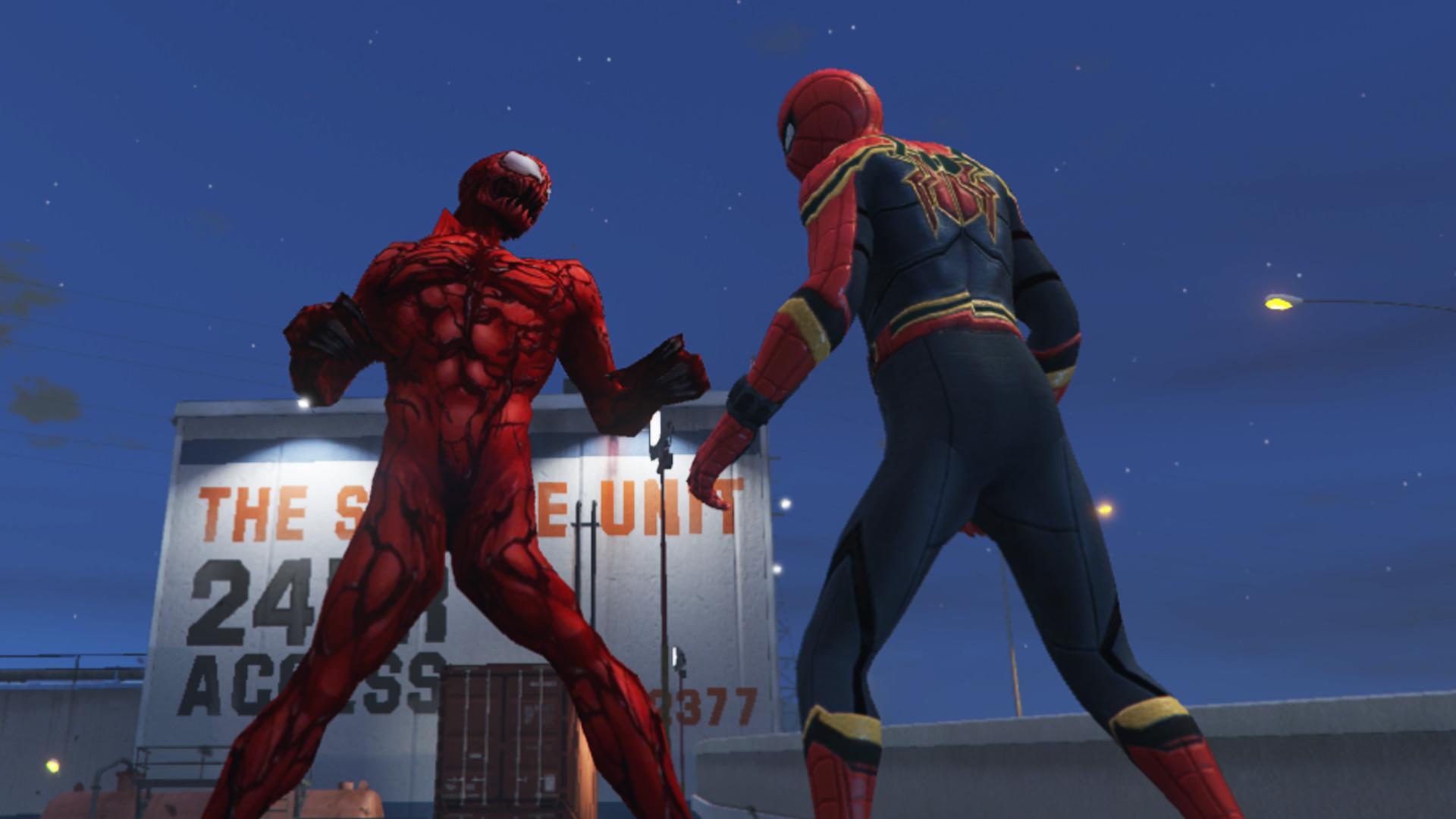 Iron Man Animated Wallpaper Carnage Marvel Future Fight Add On Gta5 Mods Com