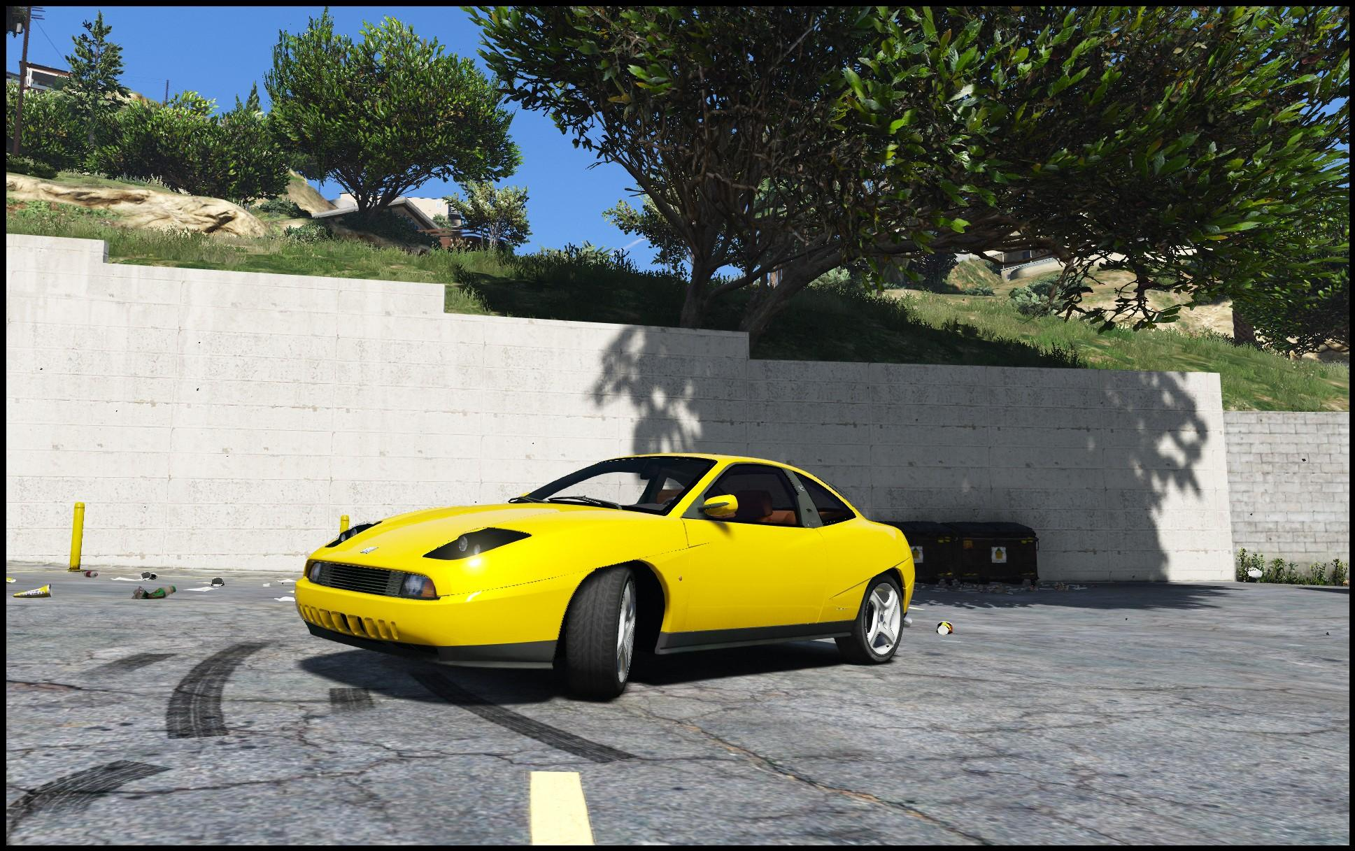 Fiat Coupe Fiat Coupe Add On Replace Gta5 Mods