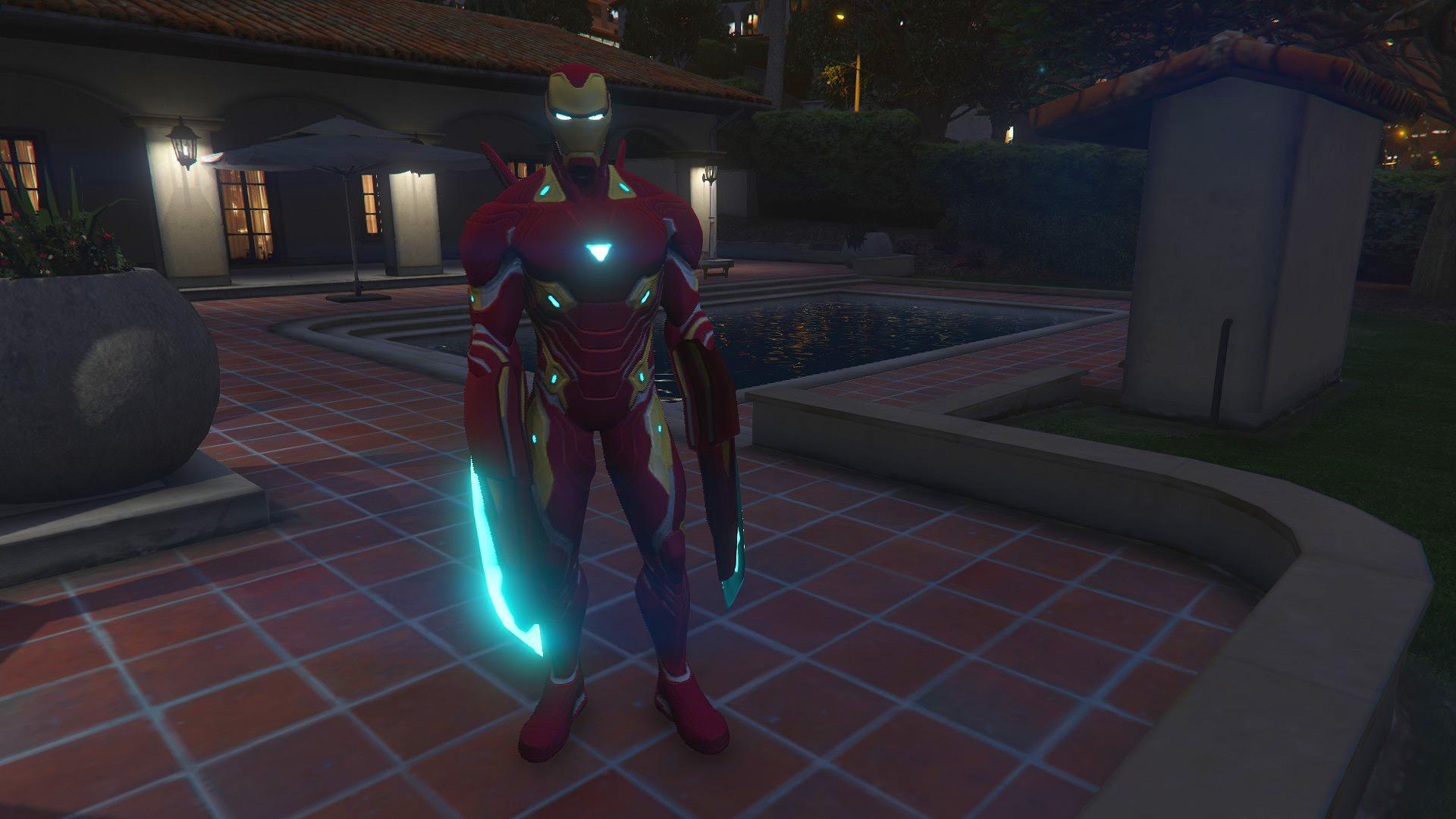 Gta 5 Cheats Ps4 Nederlands Iron Man Mk50 Mcoc Version [add-on Ped] - Gta5-mods.com