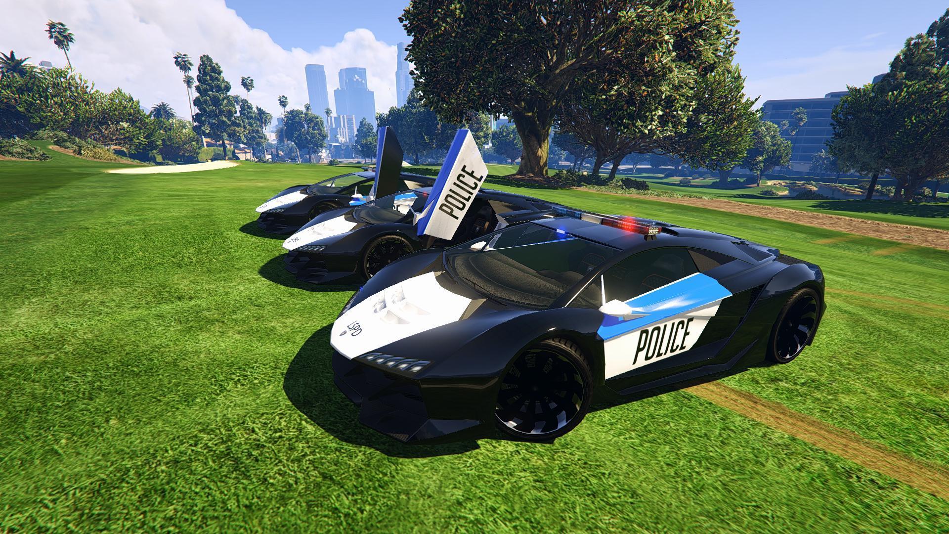 Police Cop Car Live Wallpaper Lamborghini Police Zentorno Lspd Gta5 Mods Com